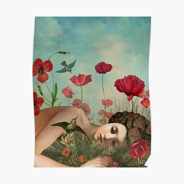 In the Poppy Field Poster
