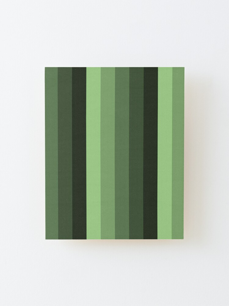 Alternate view of Beautiful Natural and Green tones Mounted Print