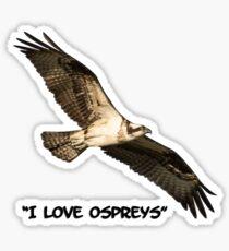 I Love Ospreys 2016-1 Sticker