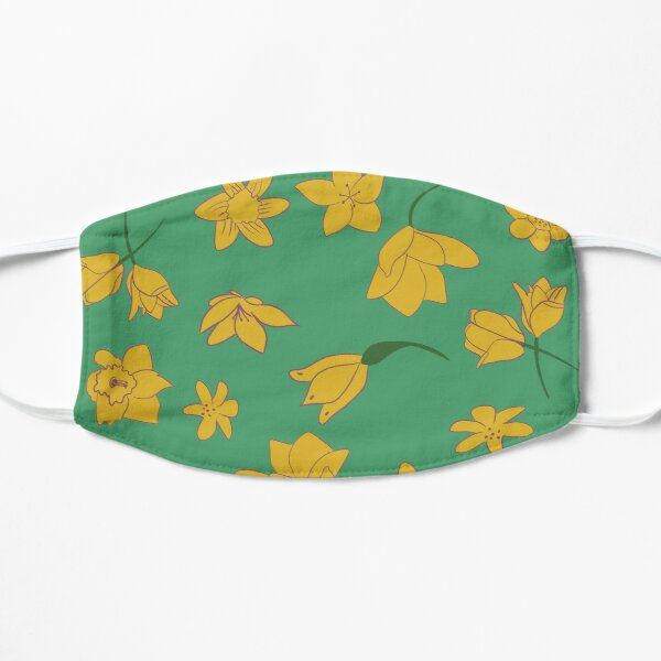 Springtime Flowers Flat Mask
