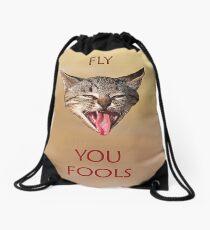 Fly you Fools Drawstring Bag