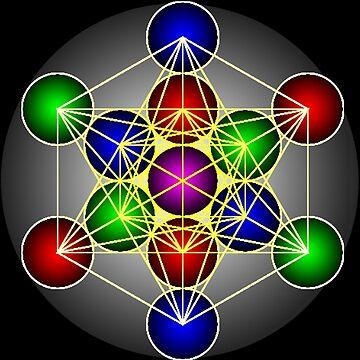 Metatron's Cube by doktorj