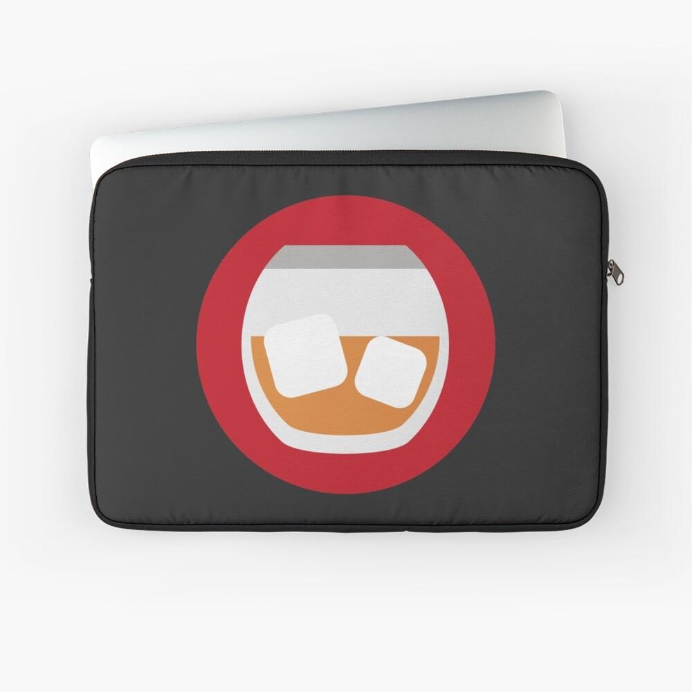 Verrückte Männer Icon V2 Laptoptasche