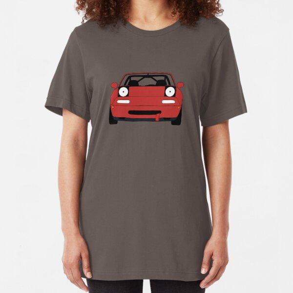Miata Racecar Slim Fit T-Shirt
