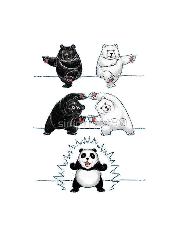 Quot Panda Fusion Quot By Simplyswt90 Redbubble