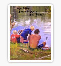 HAPPY BIRTHDAY TO YOU! Sticker