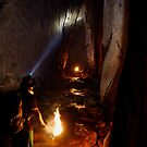Trekking through a Thai Cave by David Kelly