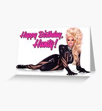 RuPaul - Happy Birthday Greeting Card