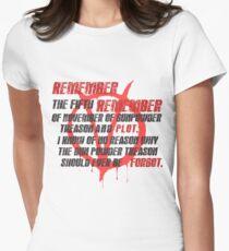 v for vendetta quote T-Shirt