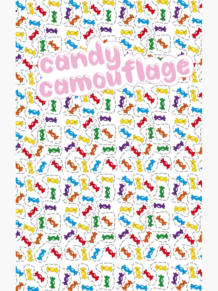 Candy Camouflage by Reddmatter