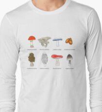 Mushroom Mania Long Sleeve T-Shirt