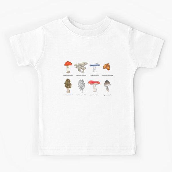 Mushroom Mania Kids T-Shirt