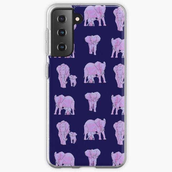 Painted Elephant Samsung Galaxy Soft Case
