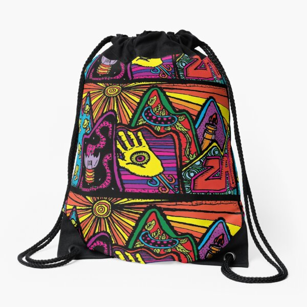 RETURN TO PEPPERLAND: PART ONE Drawstring Bag