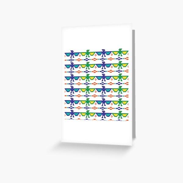 Perler Bead Patterns Greeting Card