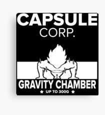 Capsule Corp. Gravity Chamber Goku Canvas Print