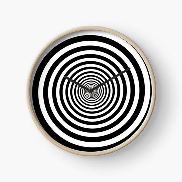 Hypnotic Spiral Clock