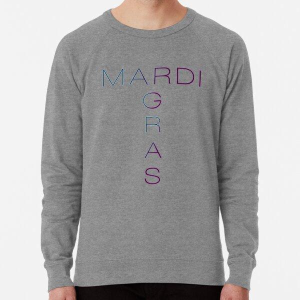 mardi gras Lightweight Sweatshirt