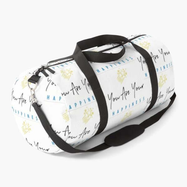You Are Your Happiness Duffle Bag