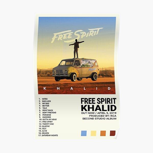 Khalid Album   Free Spirit Poster
