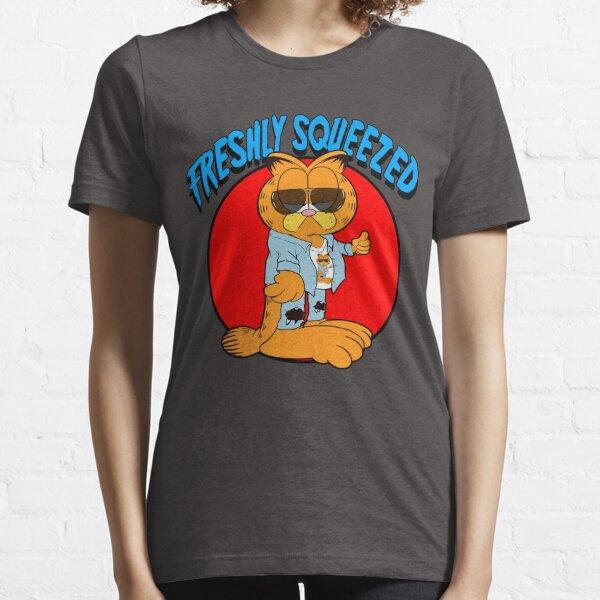 Garfield-Freshly Squeezed Parody Cartoons Essential T-Shirt