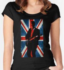 Twelve's Guitar, Hell Bent Doctor Who Women's Fitted Scoop T-Shirt