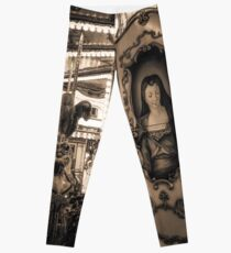 Merry Go Round in Florence, Italy Leggings