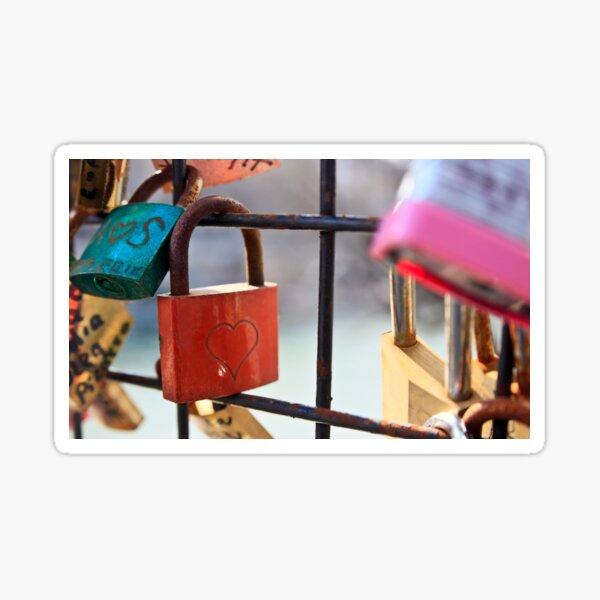 Love Lock Sticker