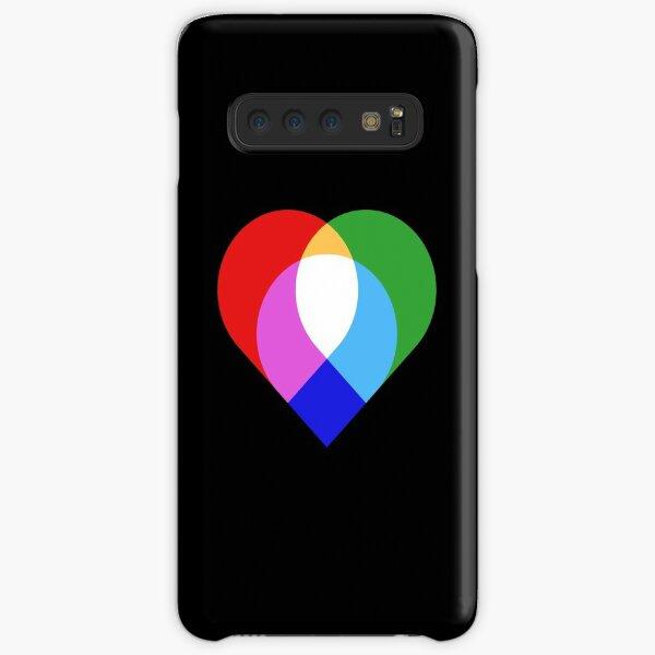 RGB Love Samsung Galaxy Snap Case