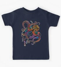 Electric Octopus Kids Tee