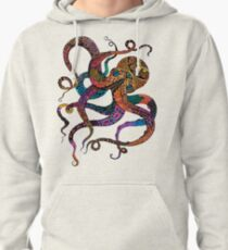 Electric Octopus Pullover Hoodie