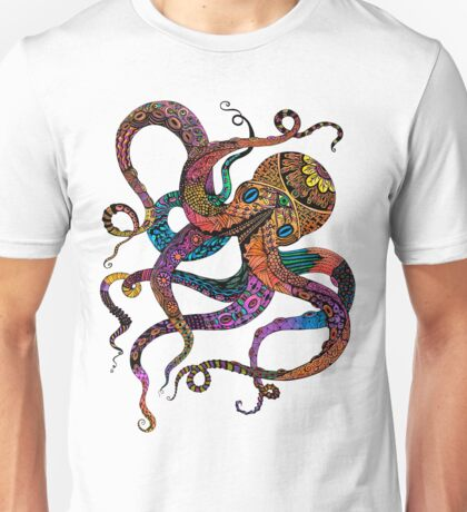 Electric Octopus Unisex T-Shirt