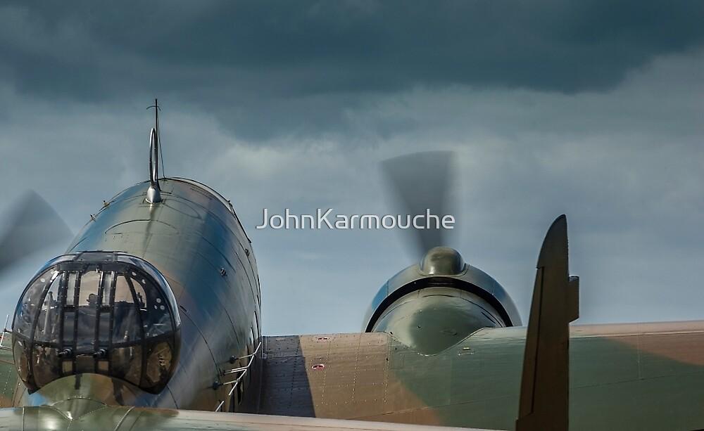 Bomber at Takeoff by JohnKarmouche