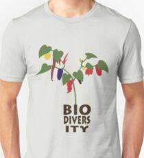 Biodiversity chilies Unisex T-Shirt