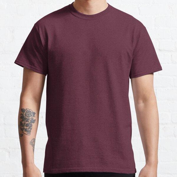 Plain Purple color Classic T-Shirt