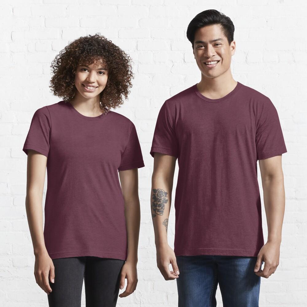 Plain Purple color Essential T-Shirt