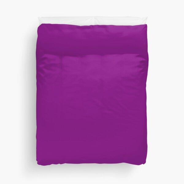 Plain Purple color Duvet Cover