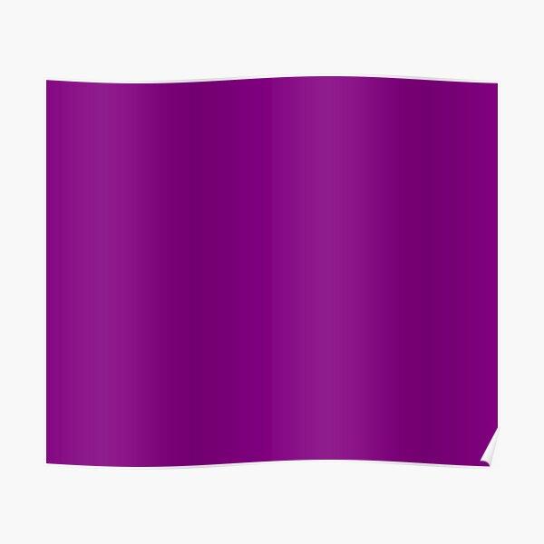 Plain Purple color Poster