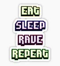 (BESTSELLER) Eat Sleep Rave Repeat Sticker