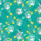 Folksy Flappers by limegreenpalace