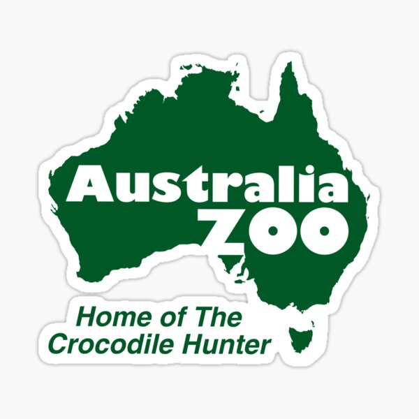 Australia Zoo Sticker