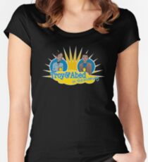 Troy and Abed in the Morning Women's Fitted Scoop T-Shirt