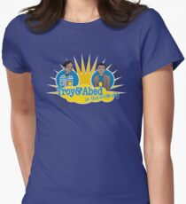 Troy and Abed in the Morning Women's Fitted T-Shirt