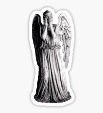 Weeping Angel - Don't Blink Sticker