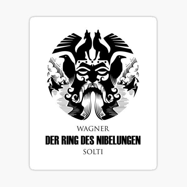 Wagner - Der Ring des Nibelungen - Solti Sticker