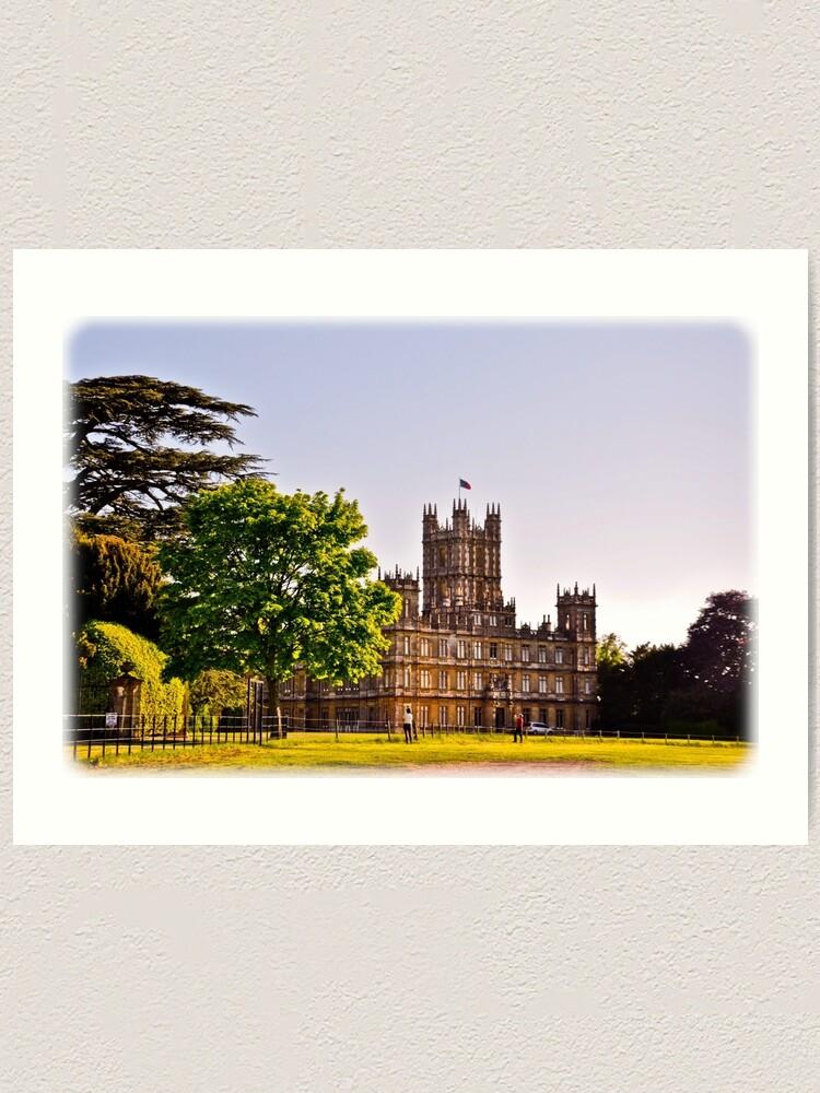 Alternate view of Highclere Castle Art Print