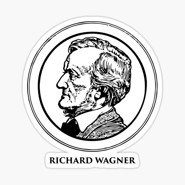 Richard Wagner Sticker