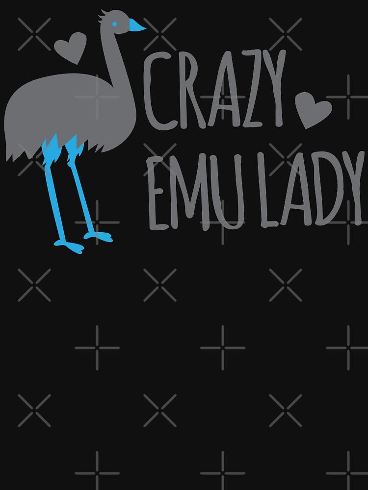 Verrückte EMU-Dame von jazzydevil