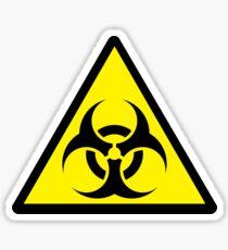 Pegatina Biohazard 2