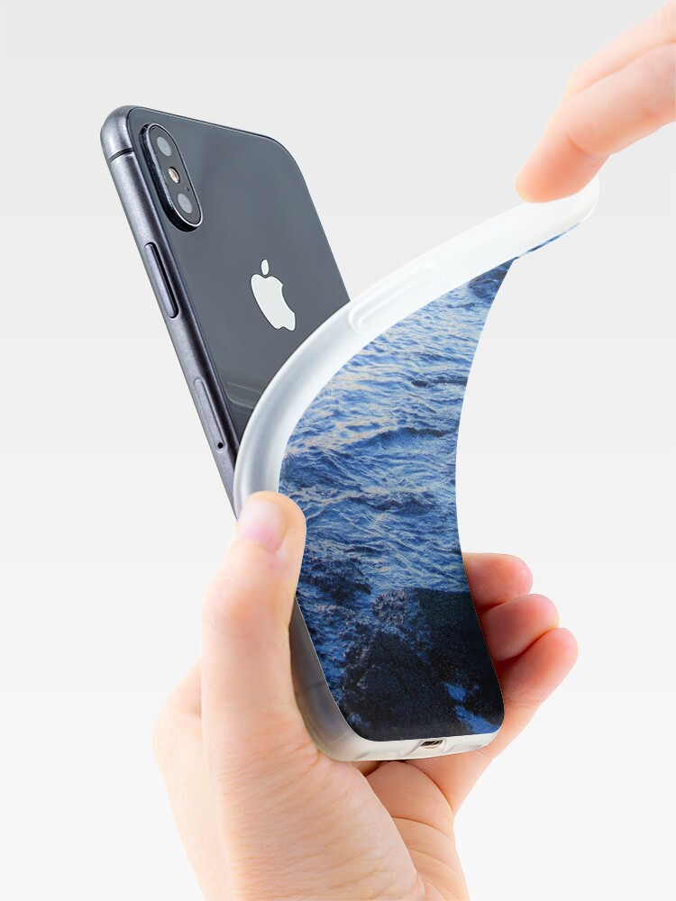 Alternate view of Blue Wave iPhone Case & Cover